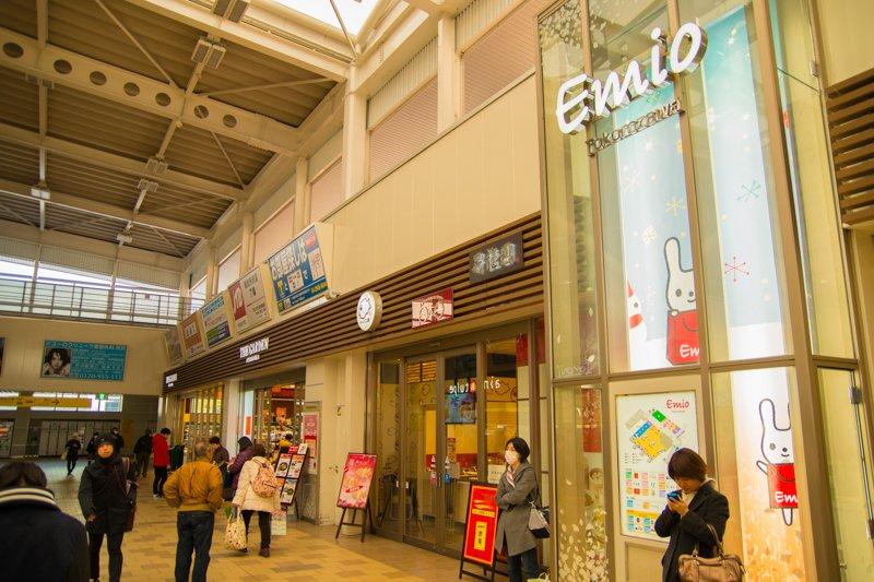 「所沢」駅のエキナカショッピングセンター「Emio所沢」