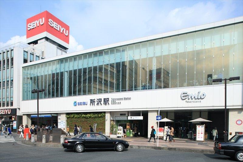 リニューアルされ利便性が向上した「所沢」駅