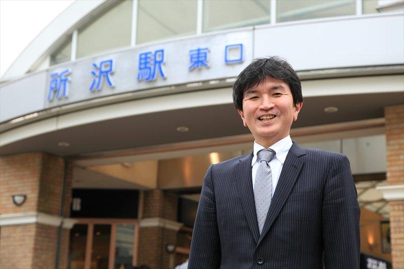 開発事業部マネジャーの川上昇司さん