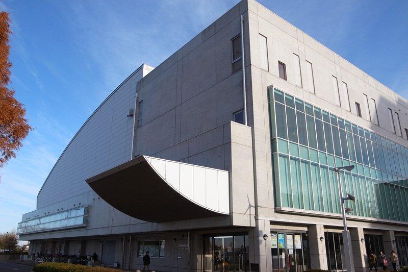 「三芳町総合体育館」