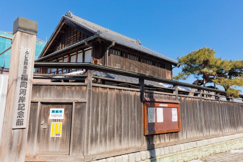 新河岸川の舟運の拠点として栄えた「福岡河岸」に造られた「福岡河岸記念館」
