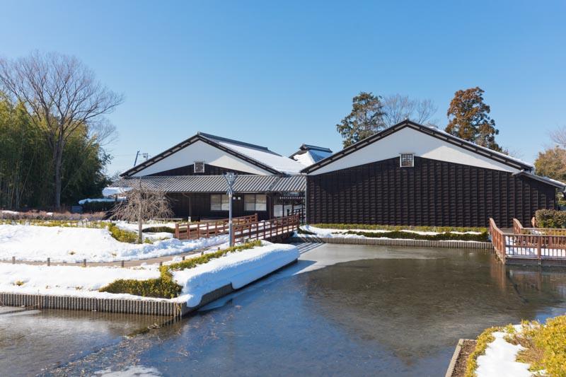 「難波田城」跡地に造られた「難波田城公園」
