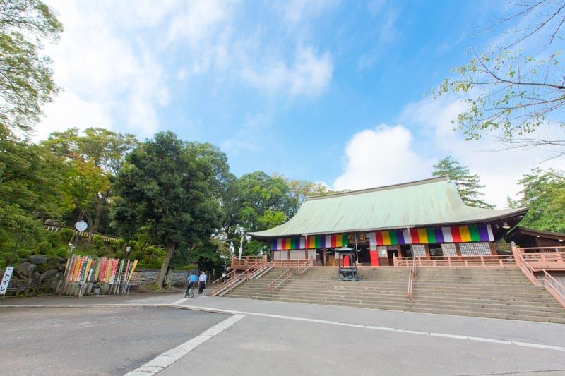 「無量寿寺」の一部であった「喜多院」