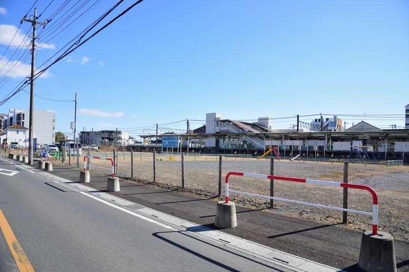 駅北側の様子