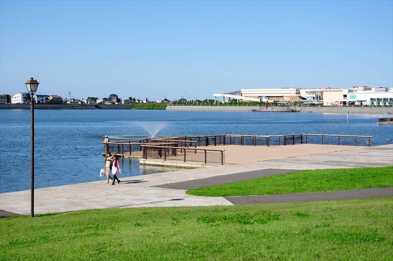 「大相模調節池」から広がる土地区画整理