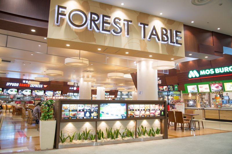 「FOREST TABLE」の様子
