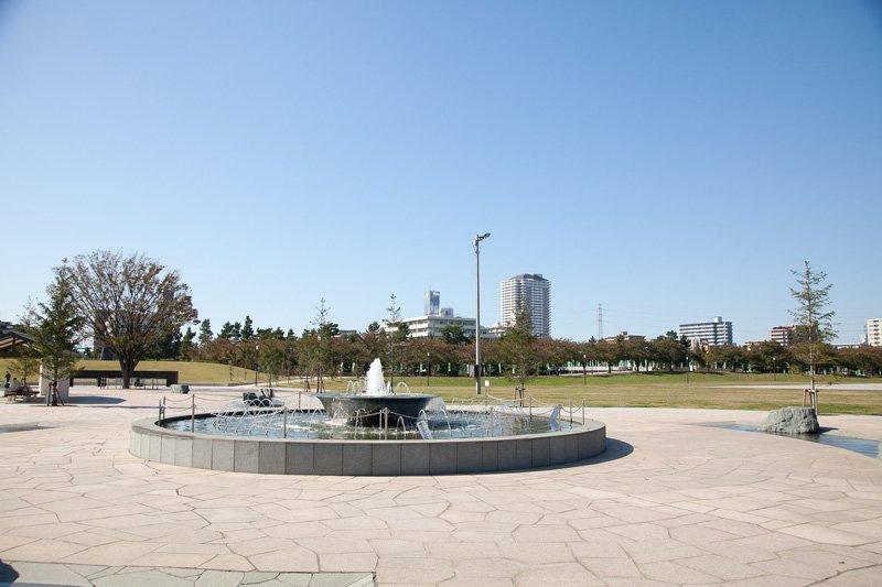 市民祭りの会場になる「綾瀬川左岸広場」