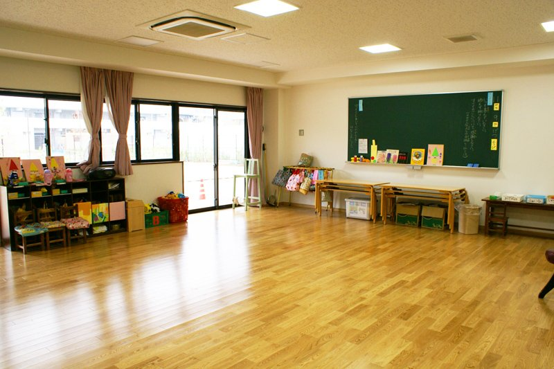 広々とした教室