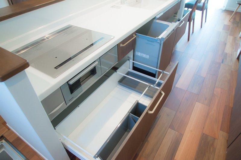 備え付けの食洗機