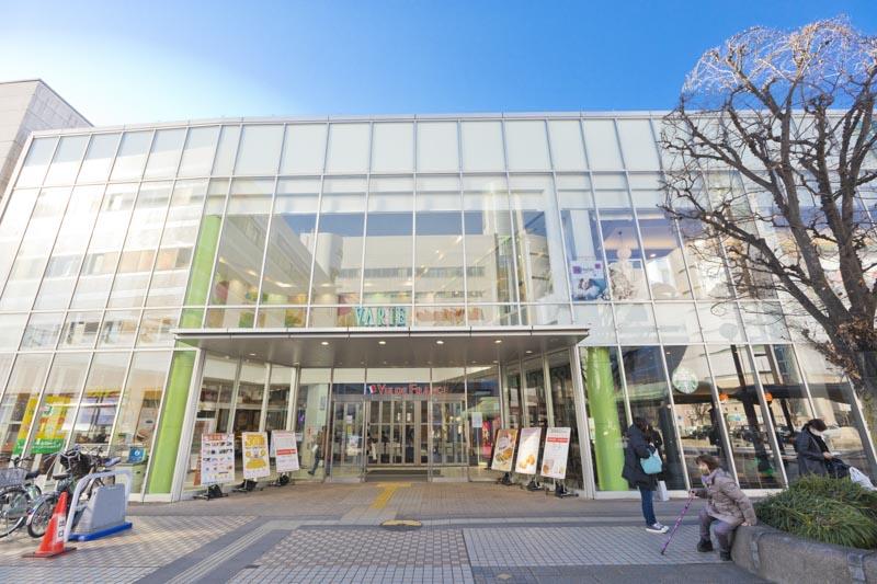 「草加」駅周辺の「草加VARIE」といったショッピング施設も使いやすい