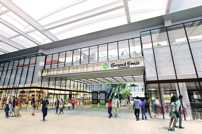 「グランエミオ所沢」のリニューアルにより「所沢」駅改札もより開放感溢れる空間に!
